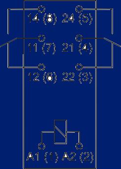 Схема подключения abb acs